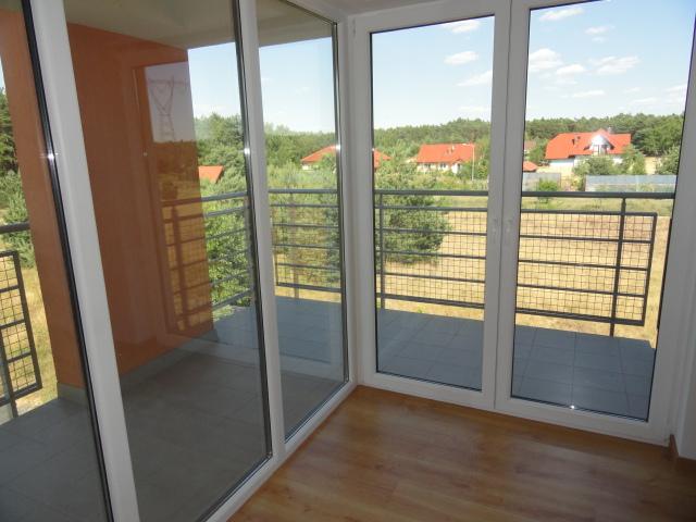wnętrze nowego domu w zielonce - taras